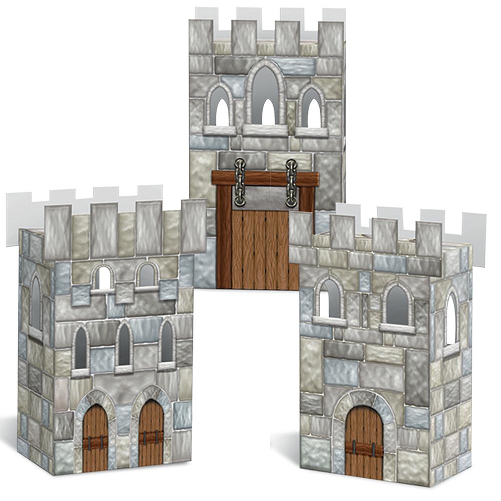 Castle Favor Boxes 3ct Image #1