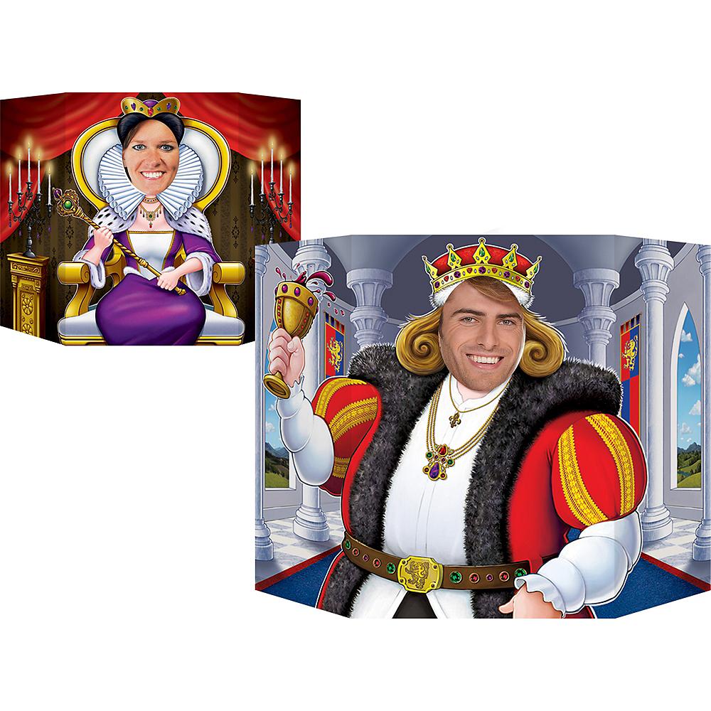 Medieval King & Queen Photo Prop Image #1