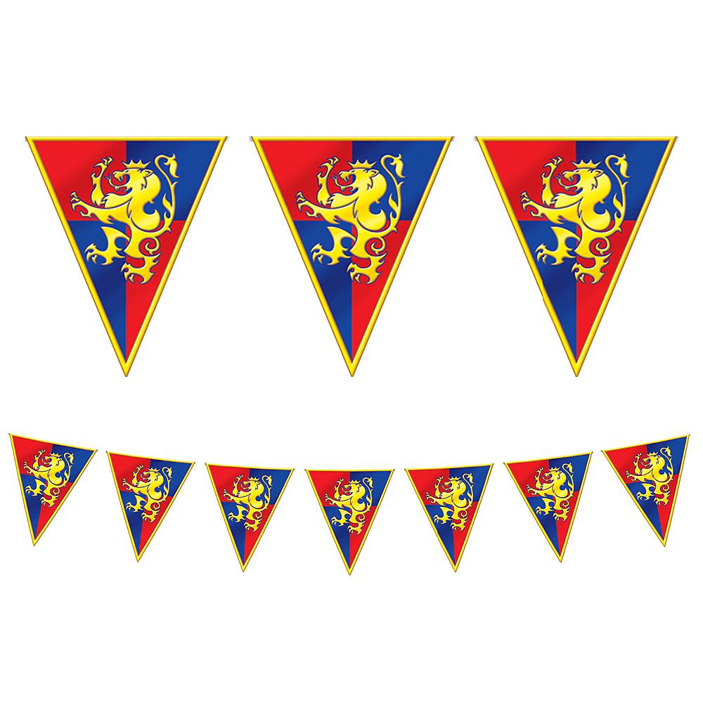 Medieval Pennant Banner Image #1