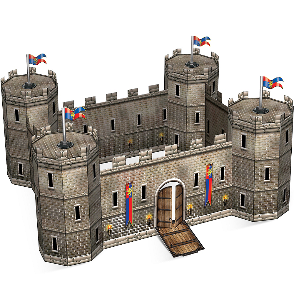 3D Castle Centerpiece Image #1