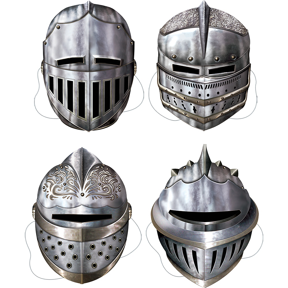 Knight Masks 4ct Image #1
