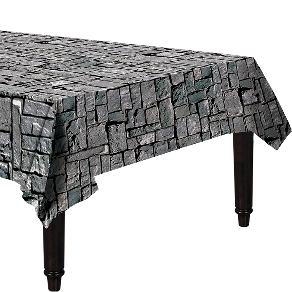 Stone Wall Table Cover Image #1