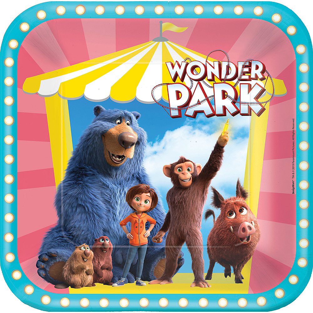 Wonder Park Lunch Plates 8ct Image #1