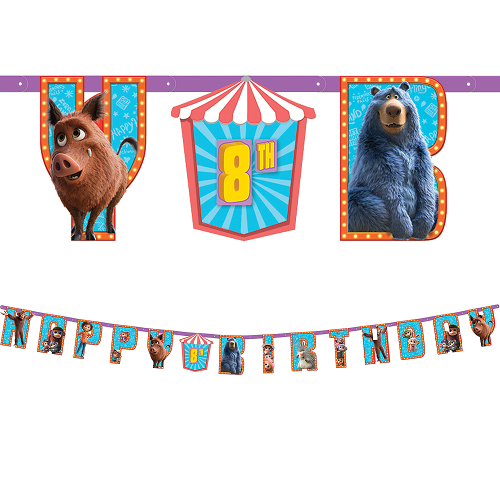 Wonder Park Birthday Banner Kit Image #1