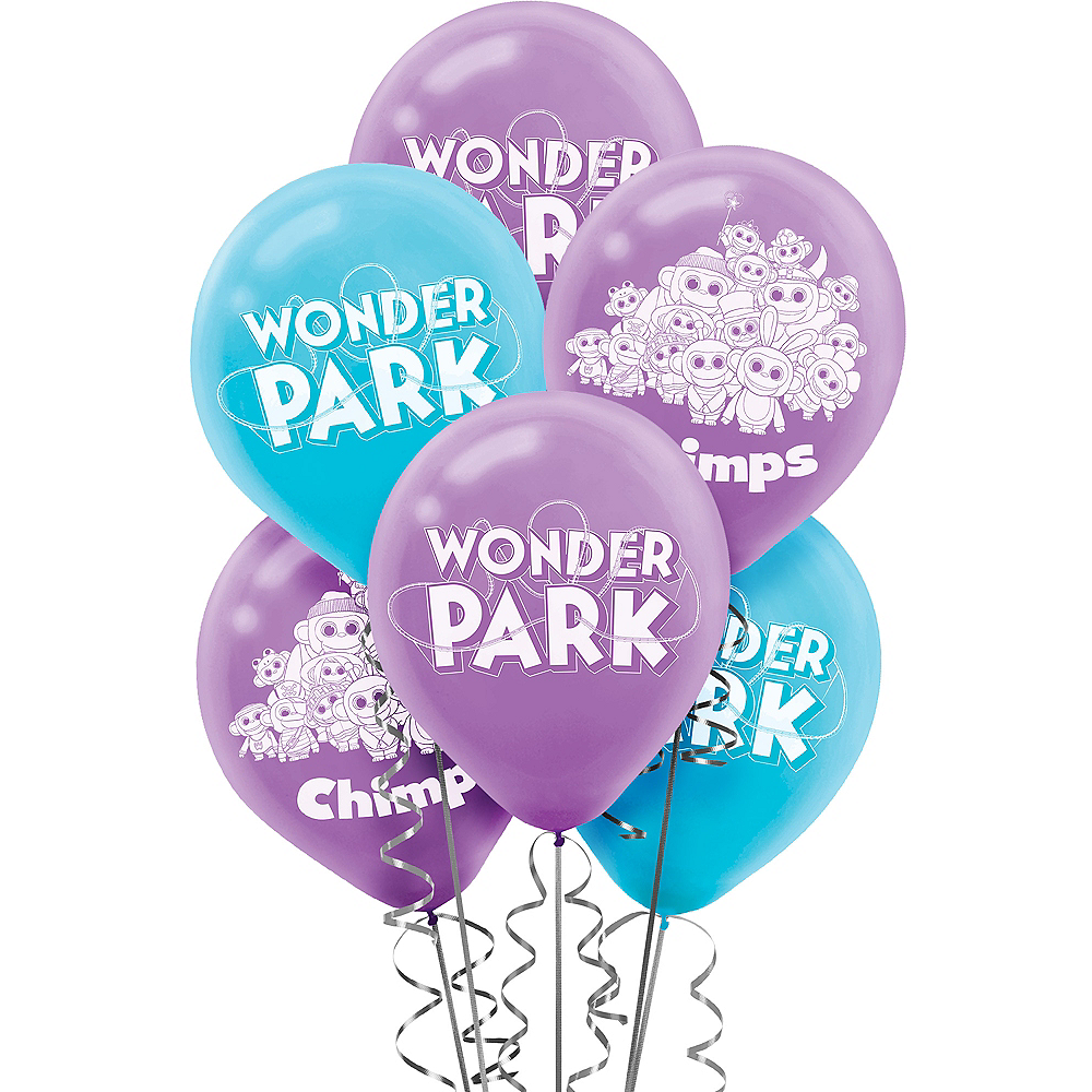 Nav Item for Wonder Park Balloons 6ct Image #1
