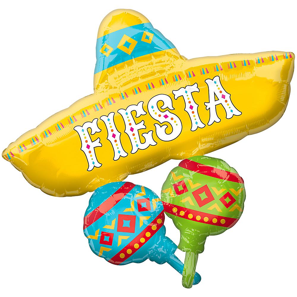 Giant Fiesta Sombrero Balloon, 31in Image #1