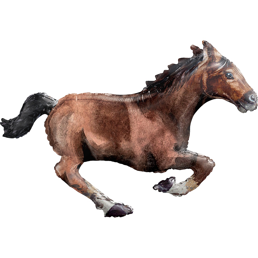 Giant Galloping Horse Balloon, 40in Image #1