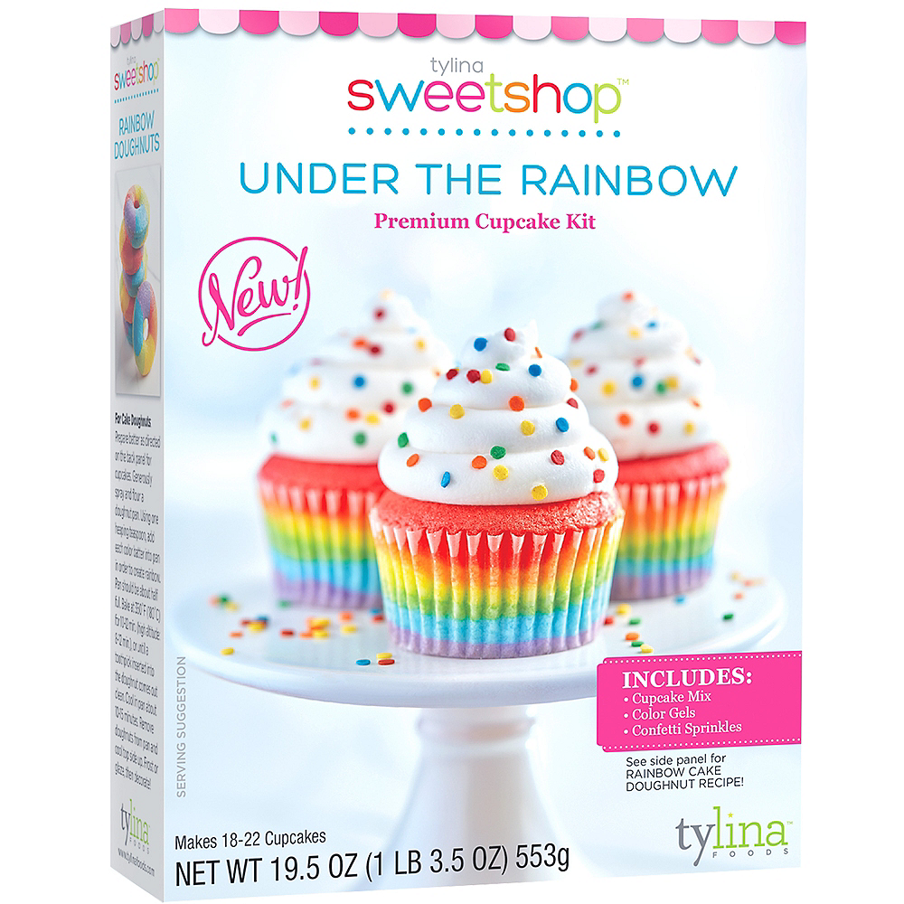 Tylina Under the Rainbow Cupcake Kit Image #1