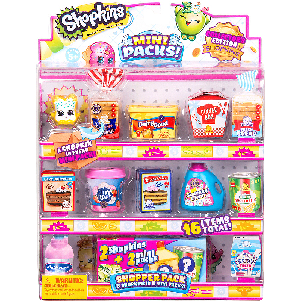 Shopkins Small Mart 8 Pack Series 10 Image #1