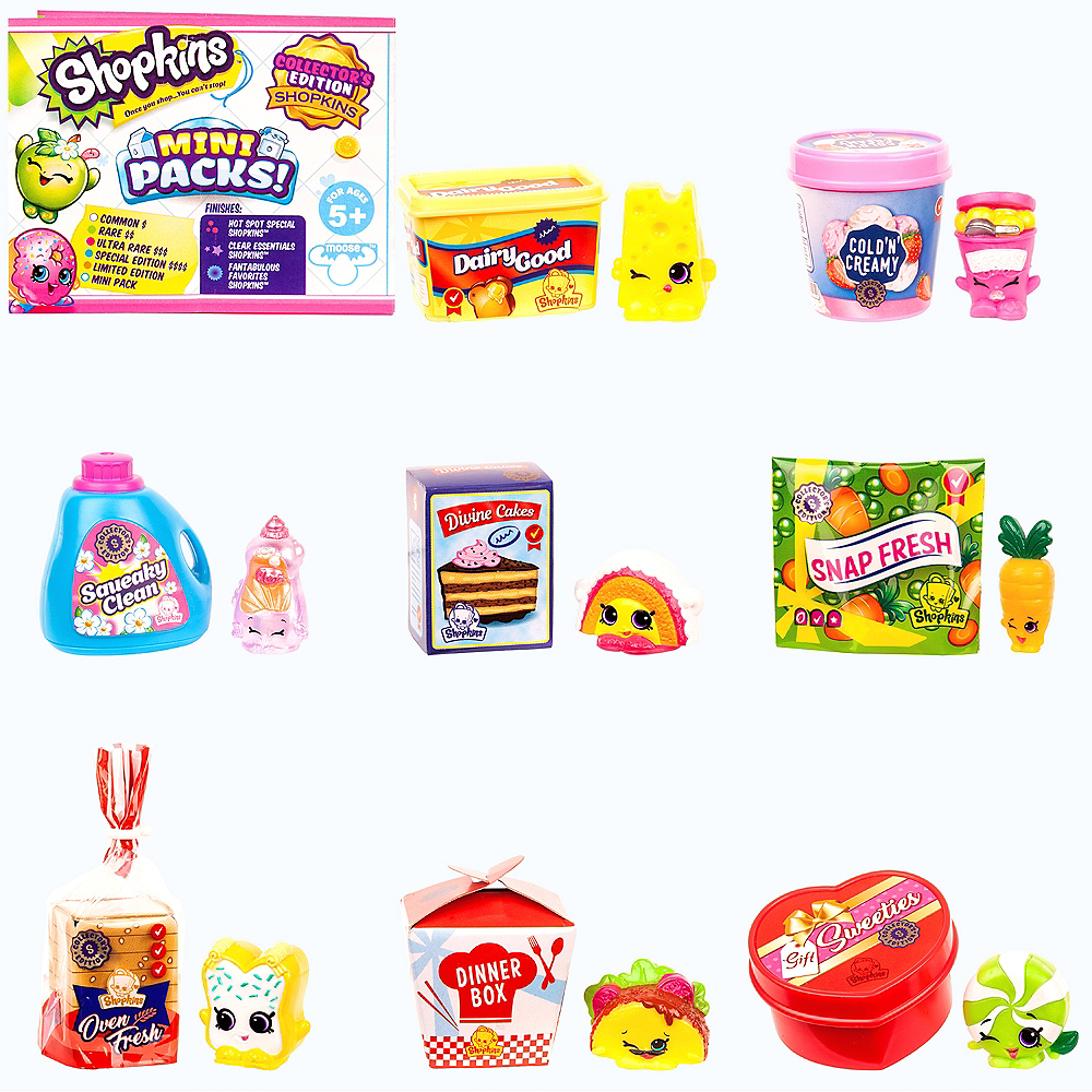 Shopkins Small Mart 8 Pack Series 10 Image #2