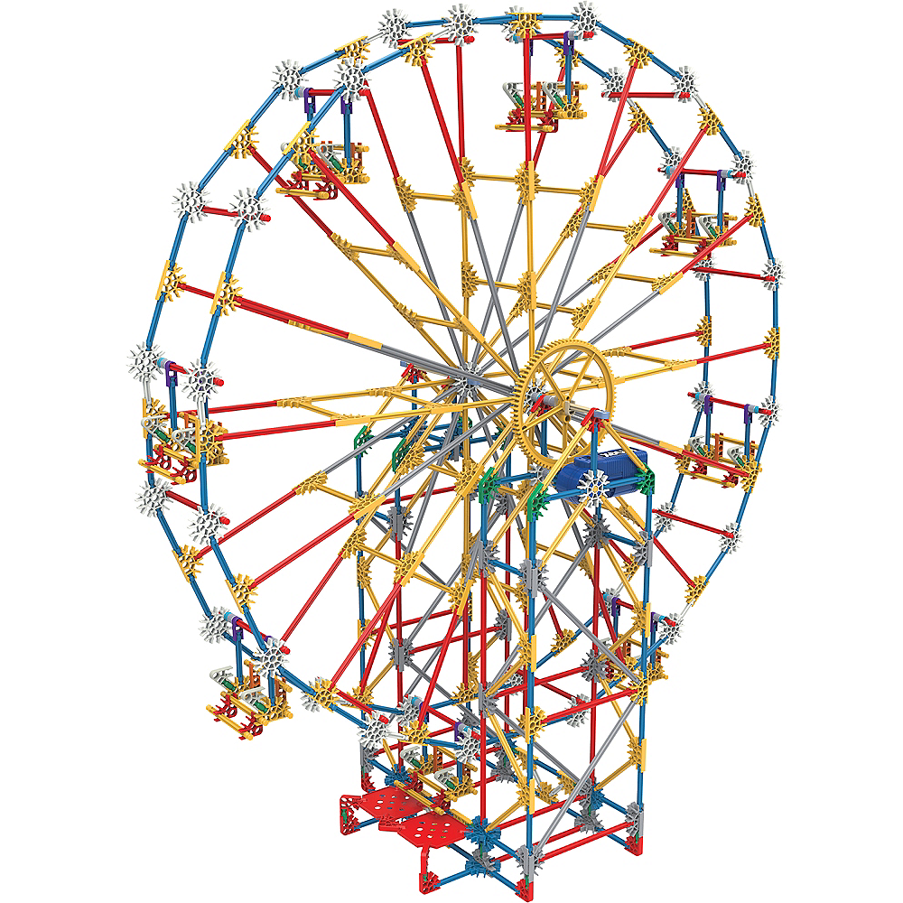 K'NEX Thrill Rides 3-In-1 Classic Amusement Park Building Set Image #1