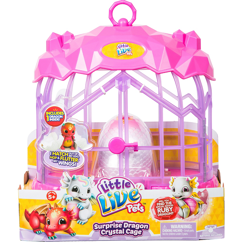 Little Live Pets Dragon Cage Playset Series 1 Image #1