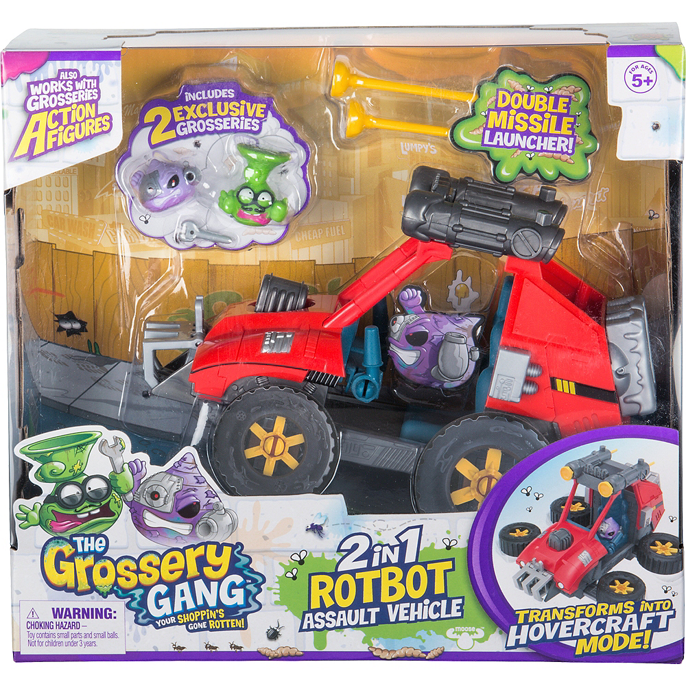 The Grossery Gang Rotbot Vehicle Series 5 Image #1