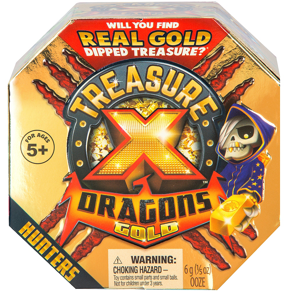 Treasure X Dragons Gold Set 6pc Image #1