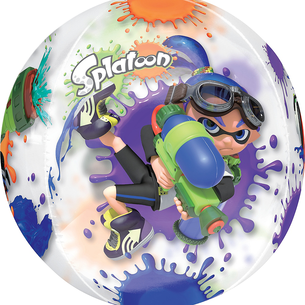 Splatoon Balloon - See Thru Orbz Image #1
