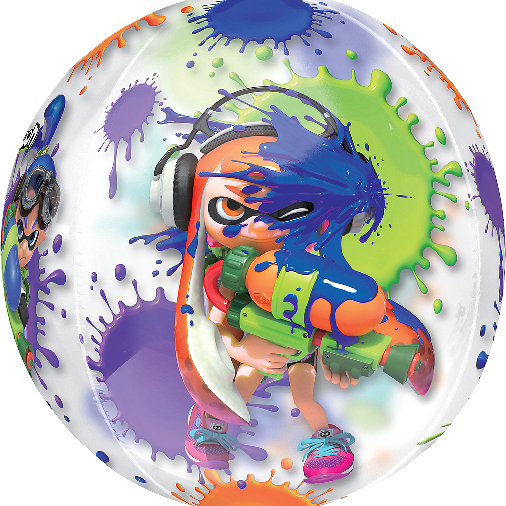 Nav Item for Splatoon Balloon - See Thru Orbz Image #2