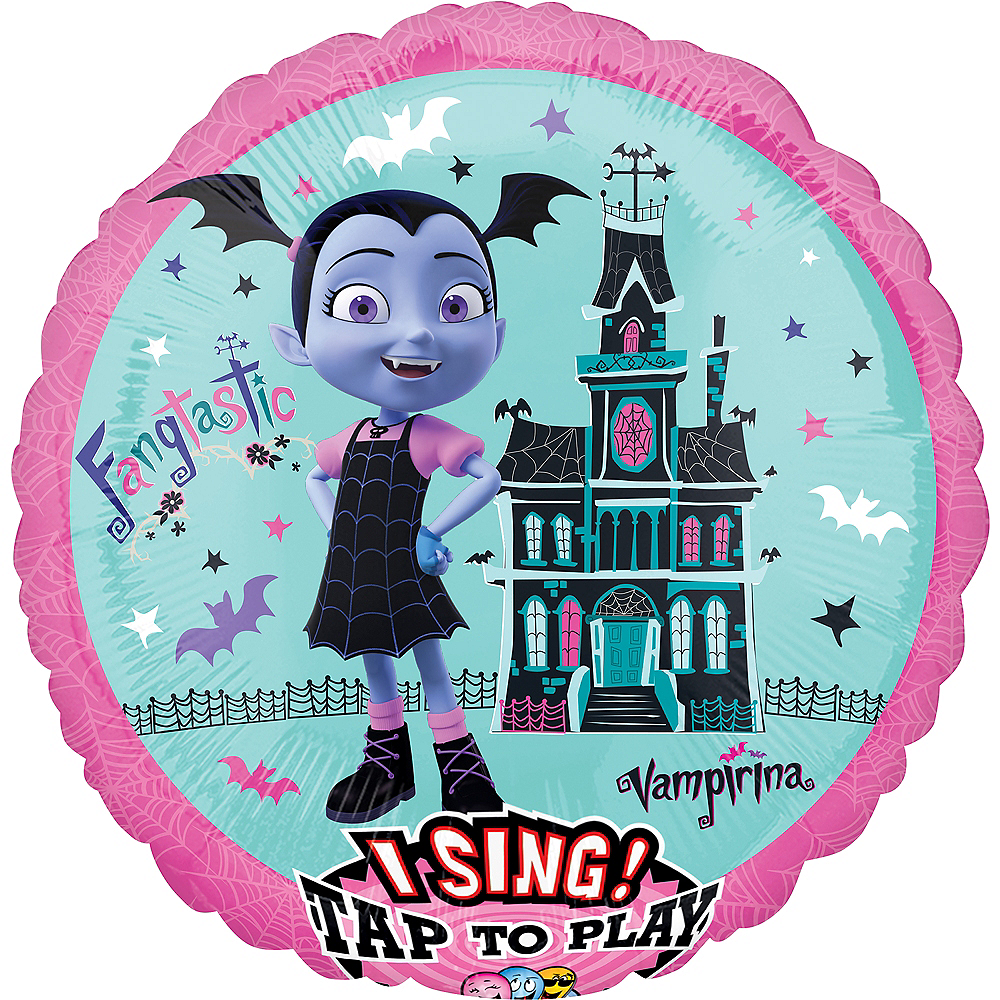 Giant Singing Vampirina Balloon Image #1