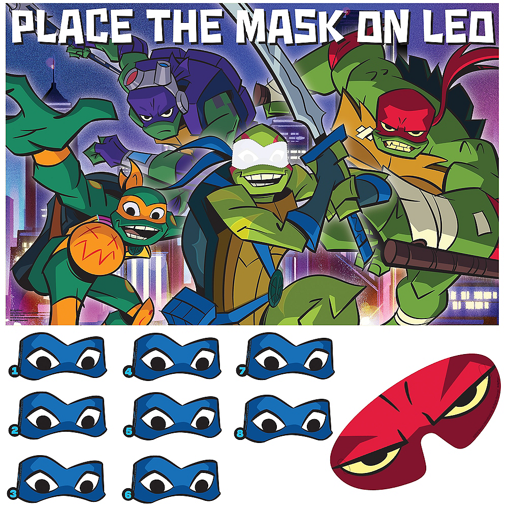 Rise of the Teenage Mutant Ninja Turtles Party Game Image #1