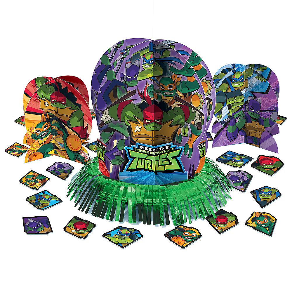 Rise of the Teenage Mutant Ninja Turtles Table Decorating Kit 23pc Image #1