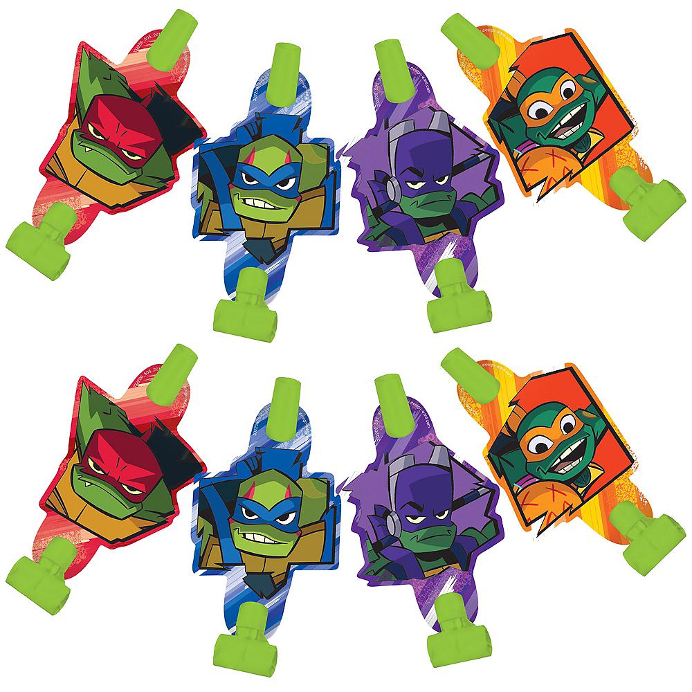 Rise of the Teenage Mutant Ninja Turtles Blowouts 8ct Image #1