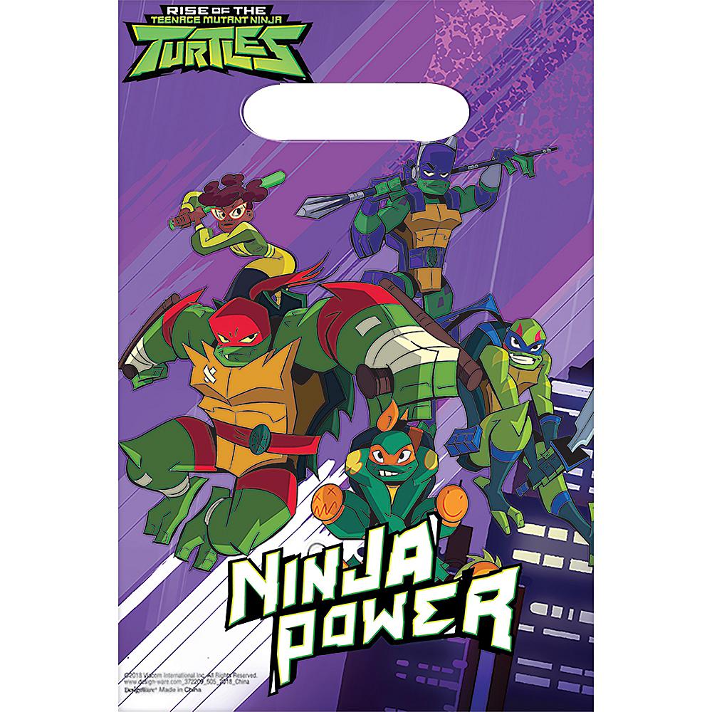 Rise of the Teenage Mutant Ninja Turtles Favor Bags 8ct Image #1