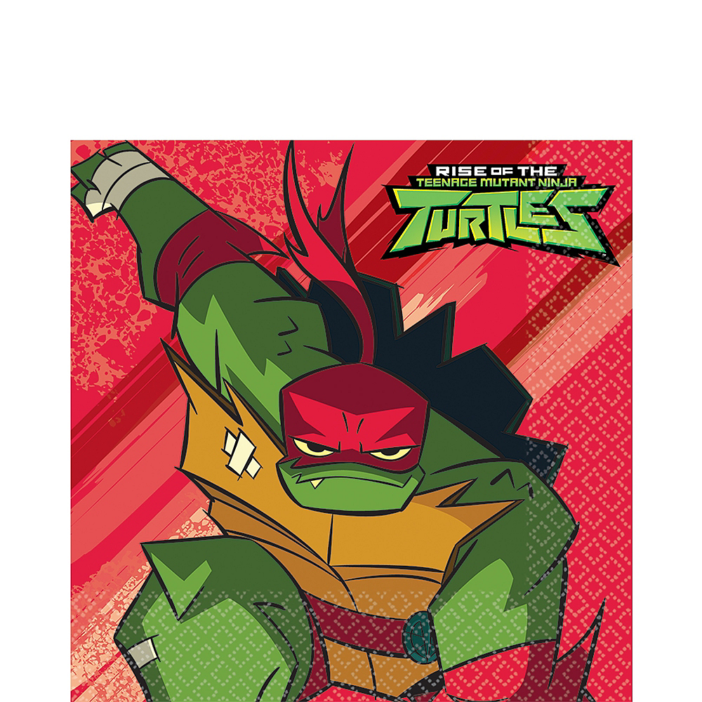 Nav Item for Rise of the Teenage Mutant Ninja Turtles Lunch Napkins 16ct Image #1