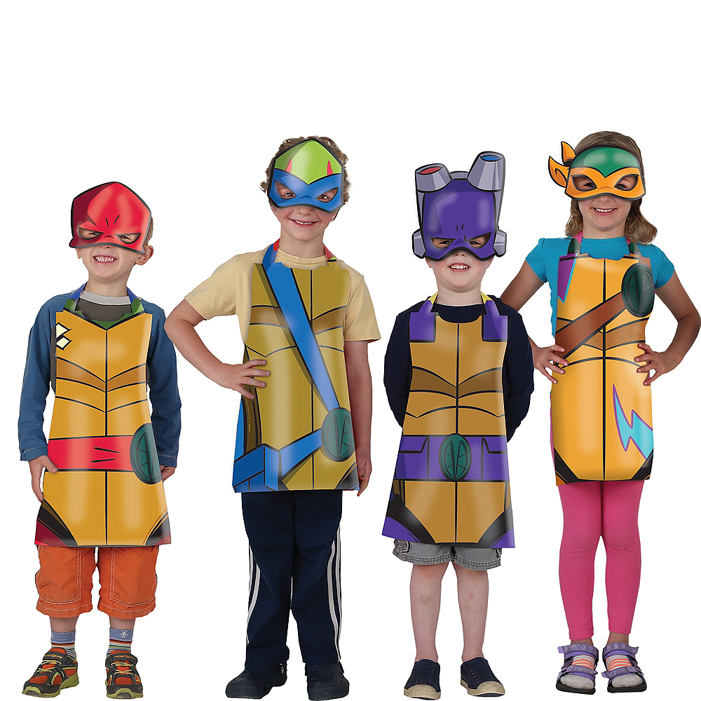 Halloween Rise Of The Ninja Turtles Party City 2020 Rise of the Teenage Mutant Ninja Turtles Wearables Kit 16pc