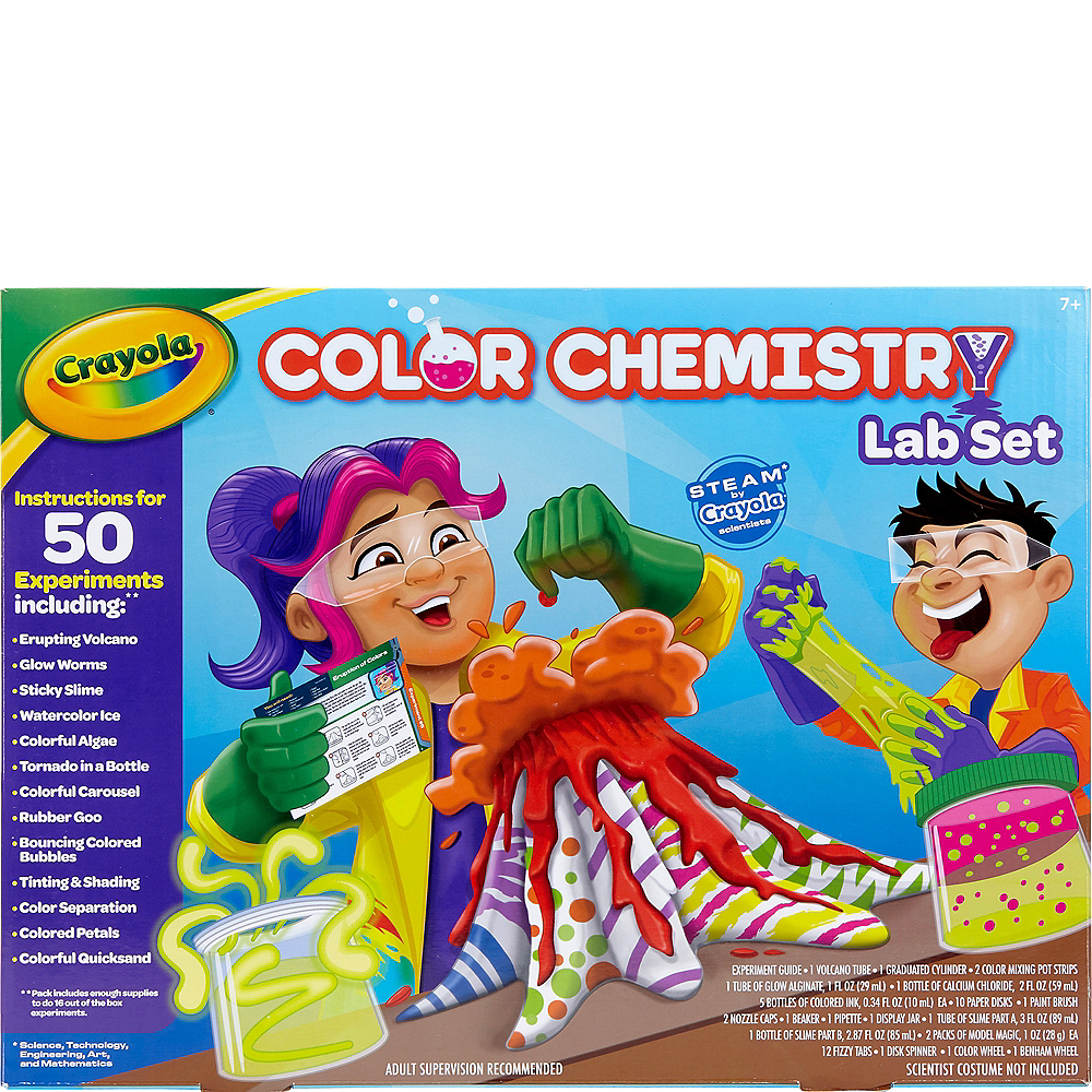 Crayola Chemistry Lab Set Image #1