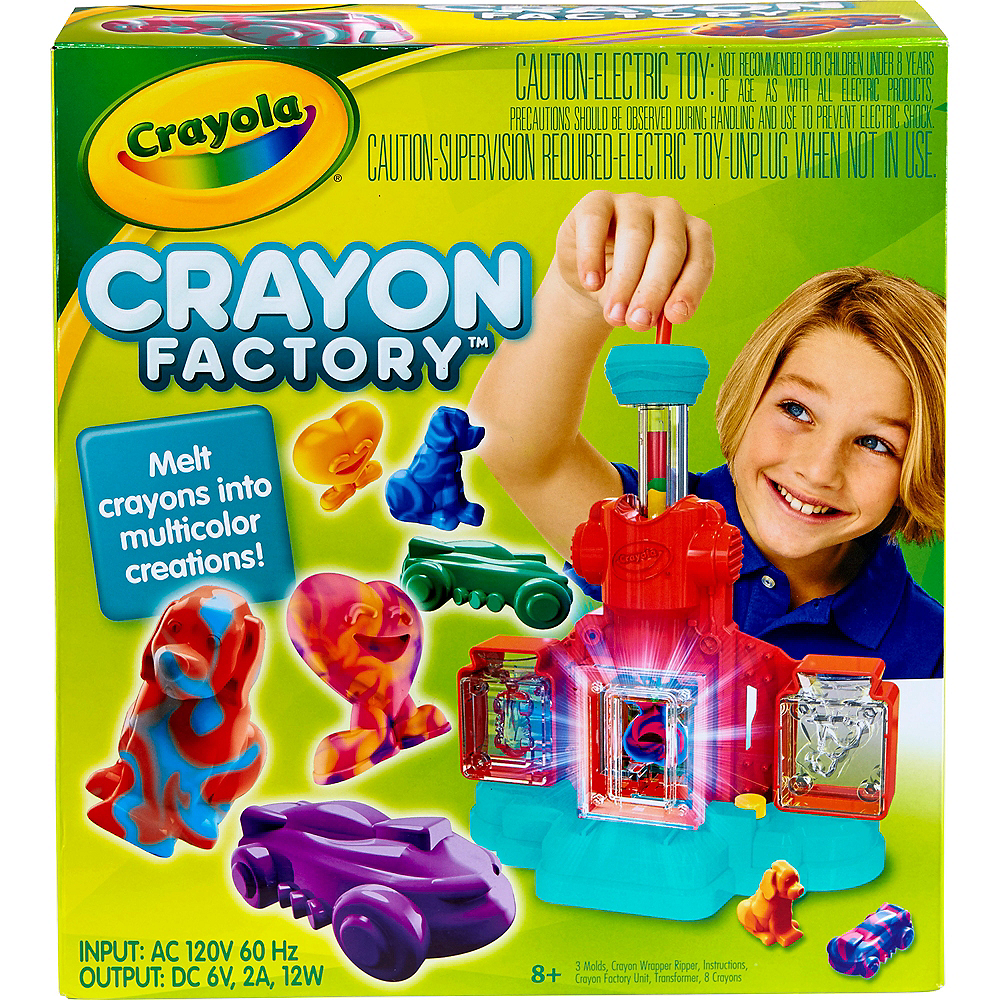 Nav Item for Crayola Crayon Factory Image #1