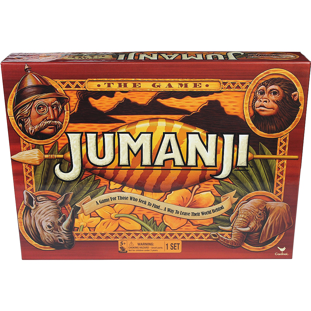 Nav Item for Jumanji Board Game Image #1