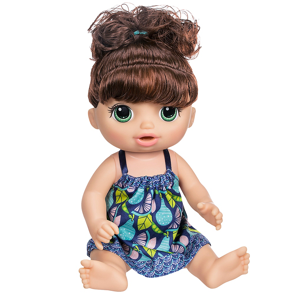 Brunette Baby Alive Sweet Spoonfuls Baby Boy Party City