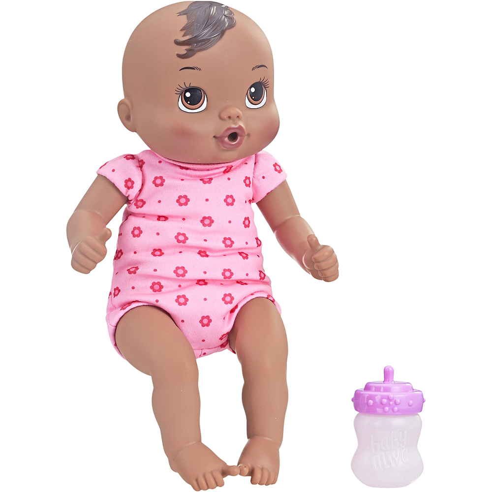 African American Baby Alive Luv 'n Snuggle Baby Doll Image #1
