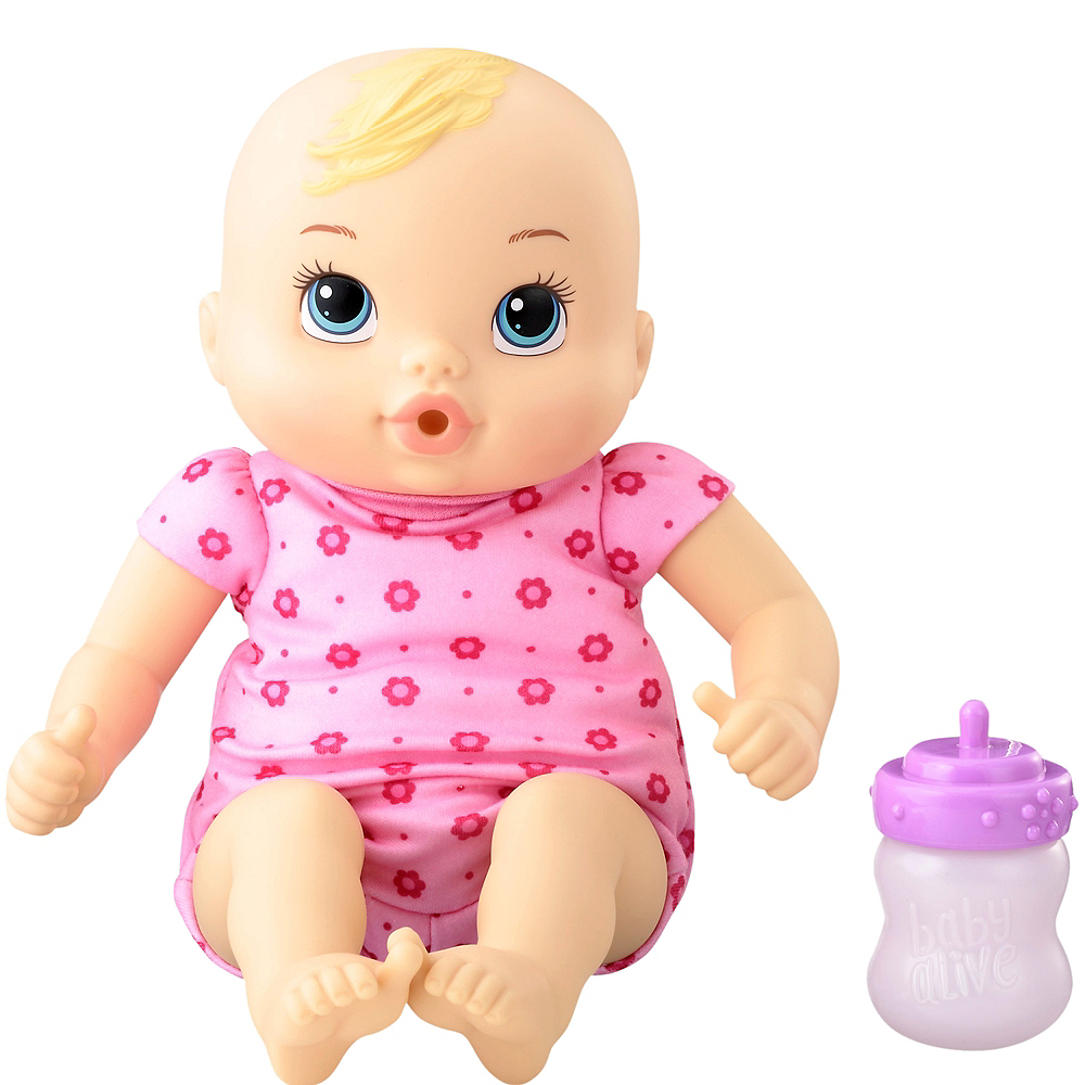 Blonde Baby Alive Luv N Snuggle Baby Doll Party City