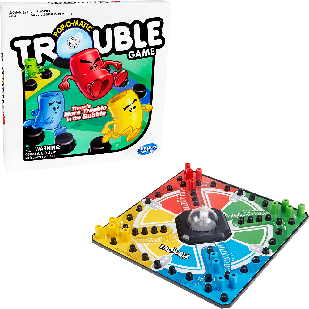 Trouble Board Game Image #1
