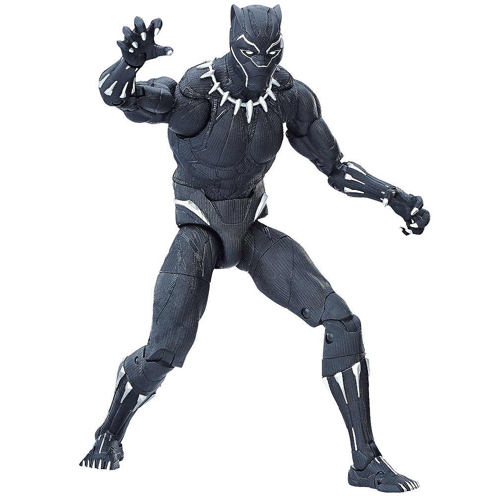 Nav Item for Titan Hero Series Black Panther Figure Image #1