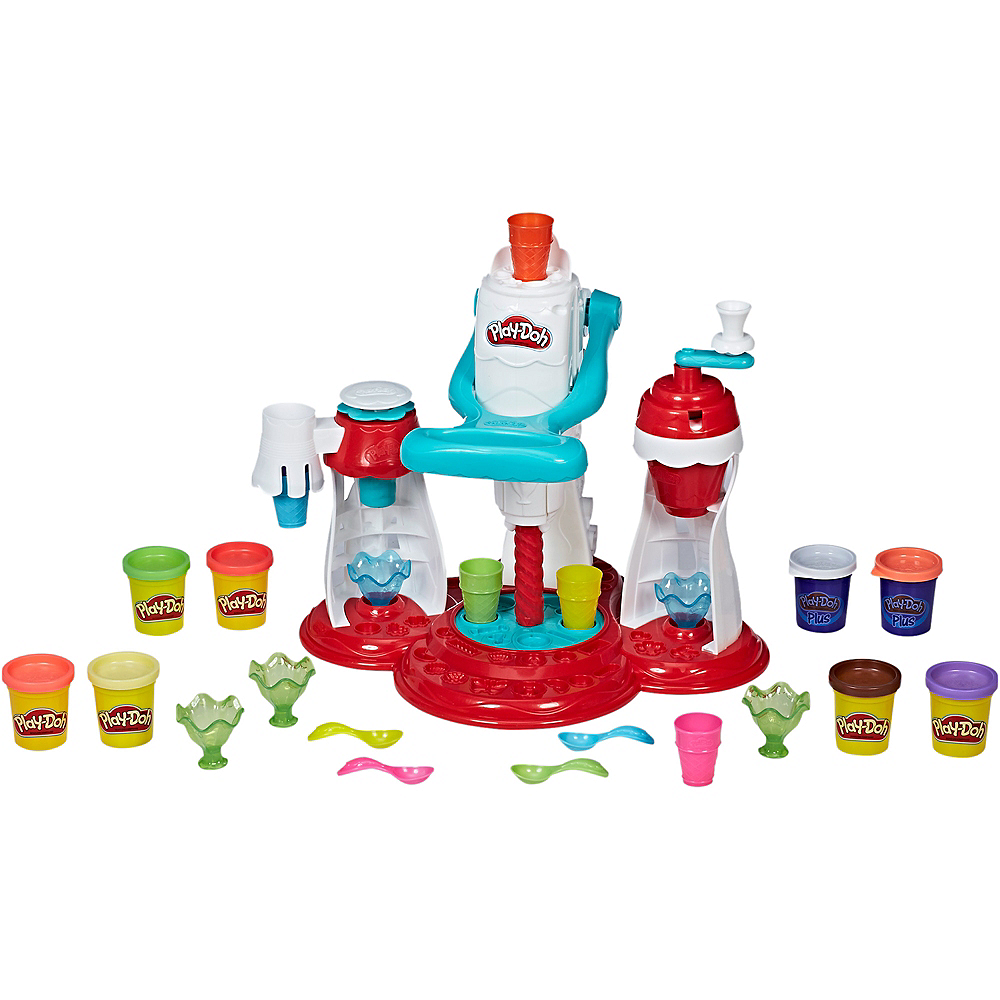 Play-Doh Kitchen Creations Ultimate Swirl Ice Cream Maker Image #1
