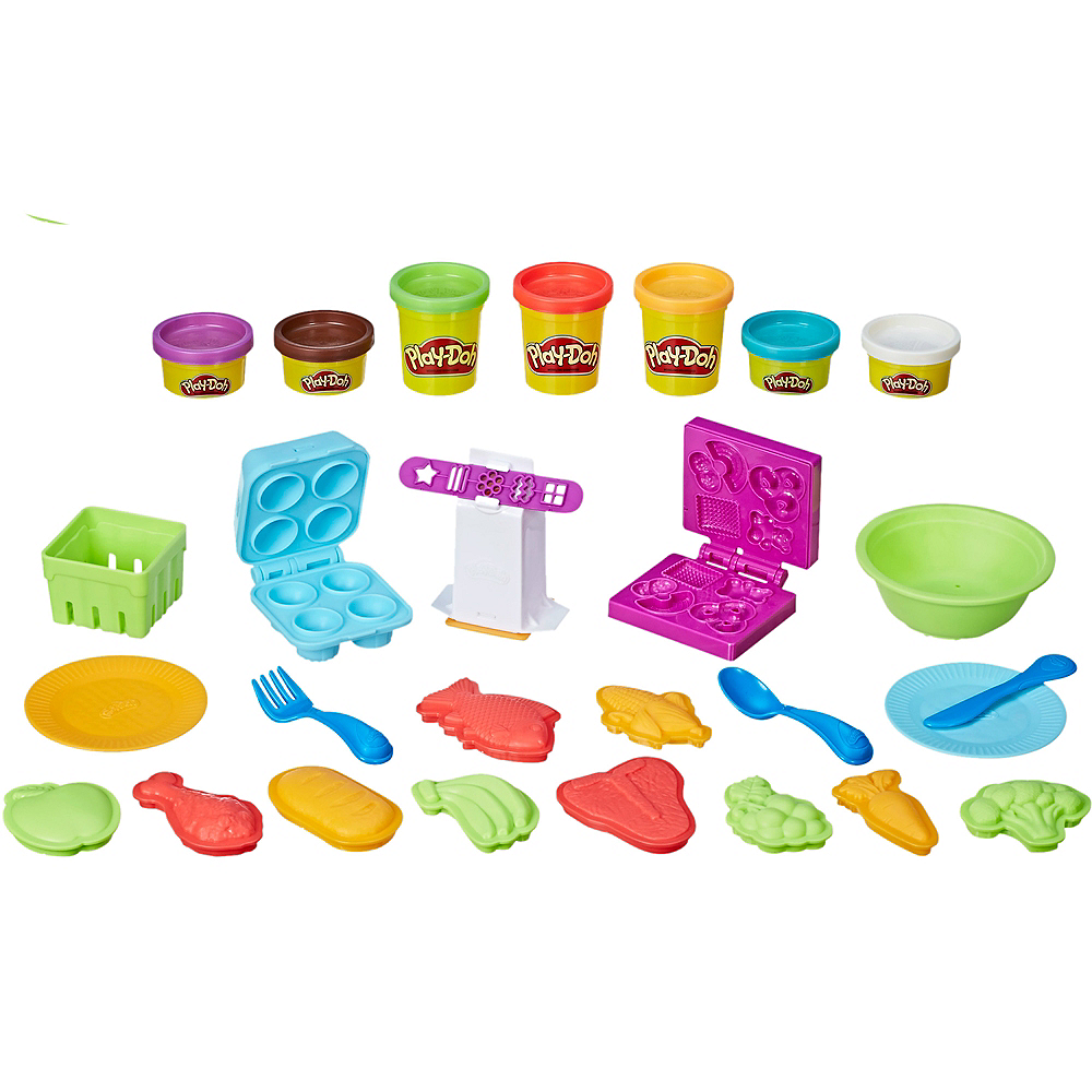Play-Doh Kitchen Creations Grocery Goodies Image #1