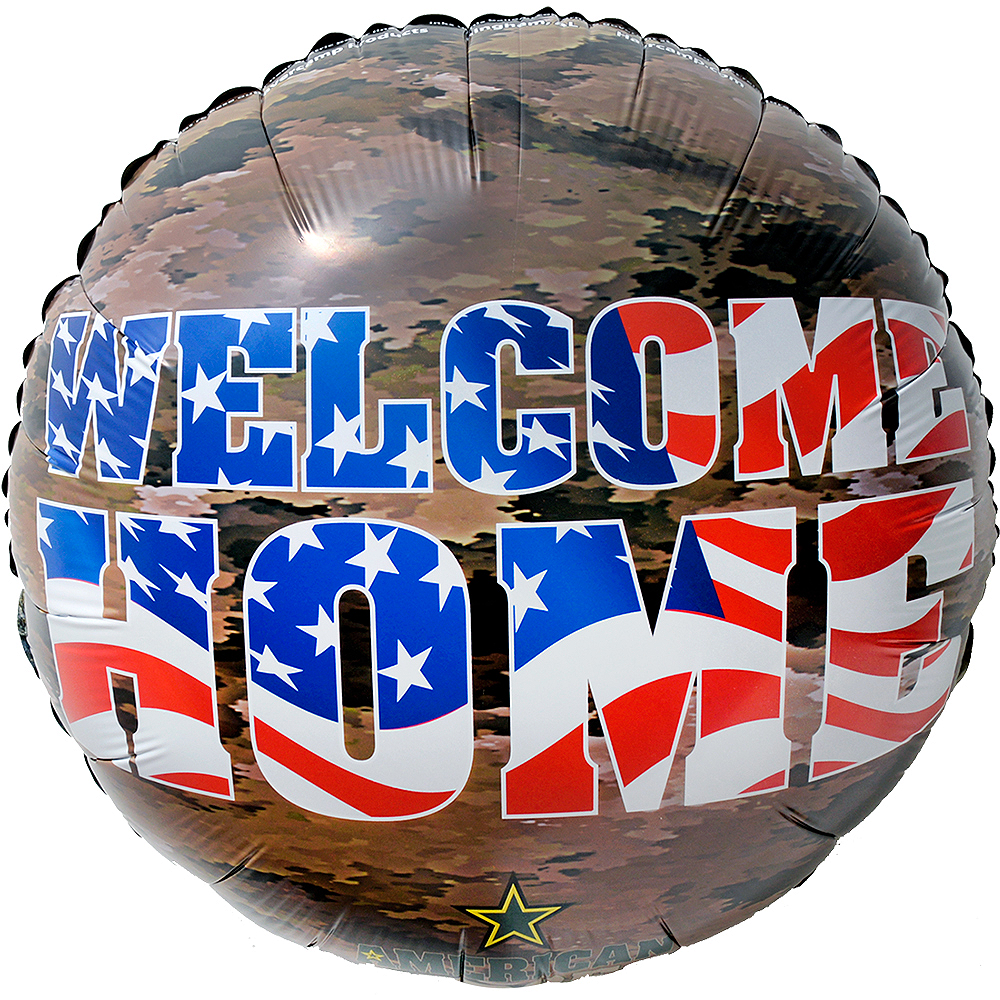 US Military Welcome Home Balloon Image #1