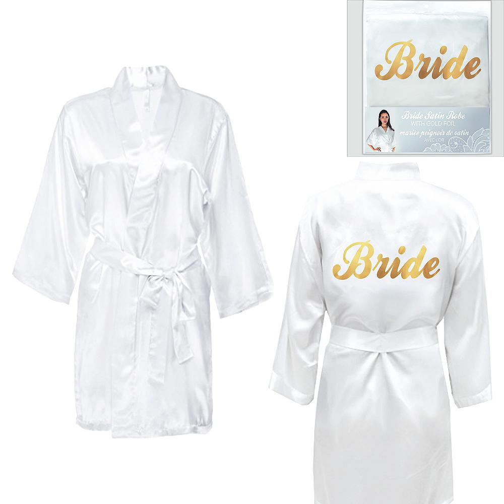 Ivory & Gold Bride Robe Image #1