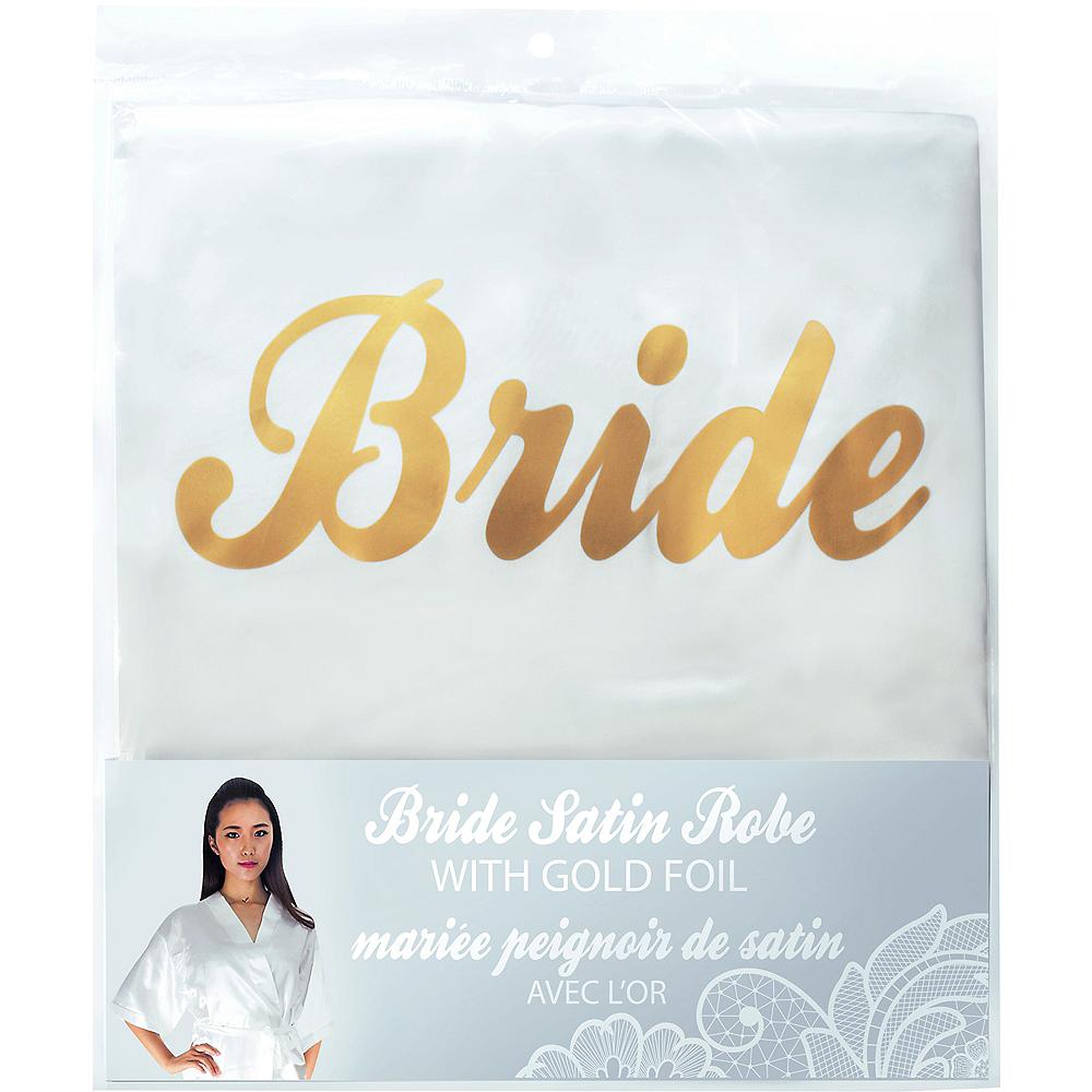 Ivory & Gold Bride Robe Image #2
