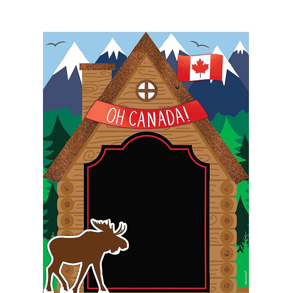 Glitter Canada Chalkboard Easel Sign Image #1