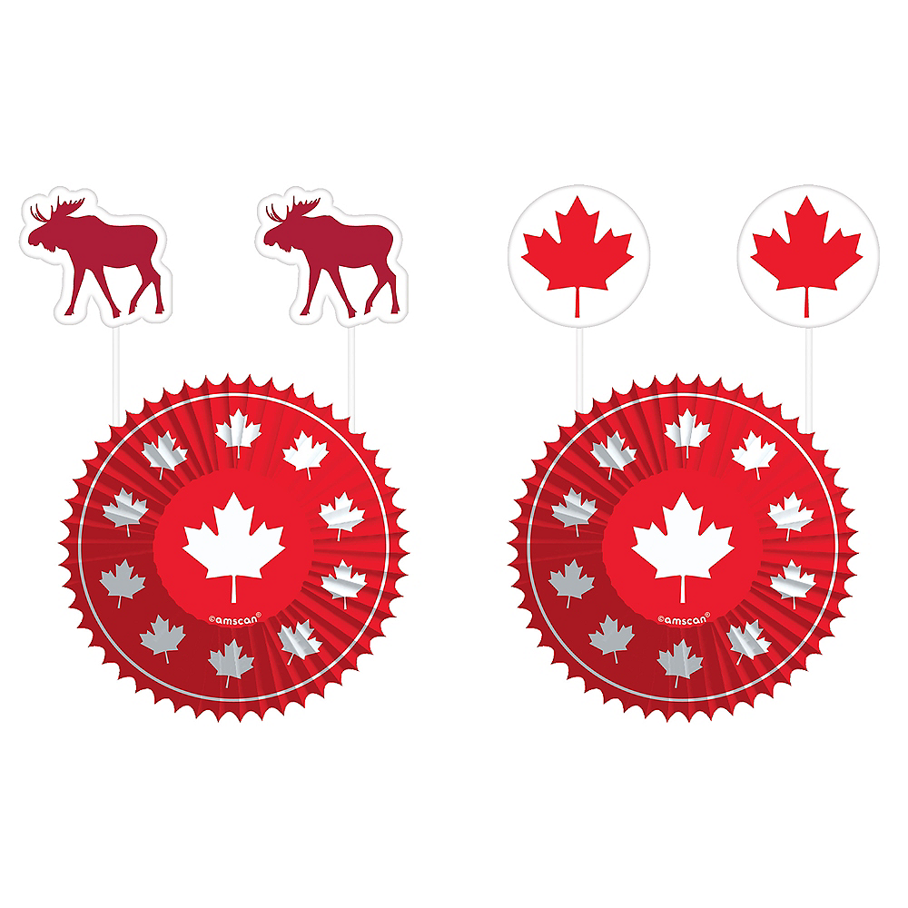 Canada Cupcake Decorating Kit for 24 Image #1