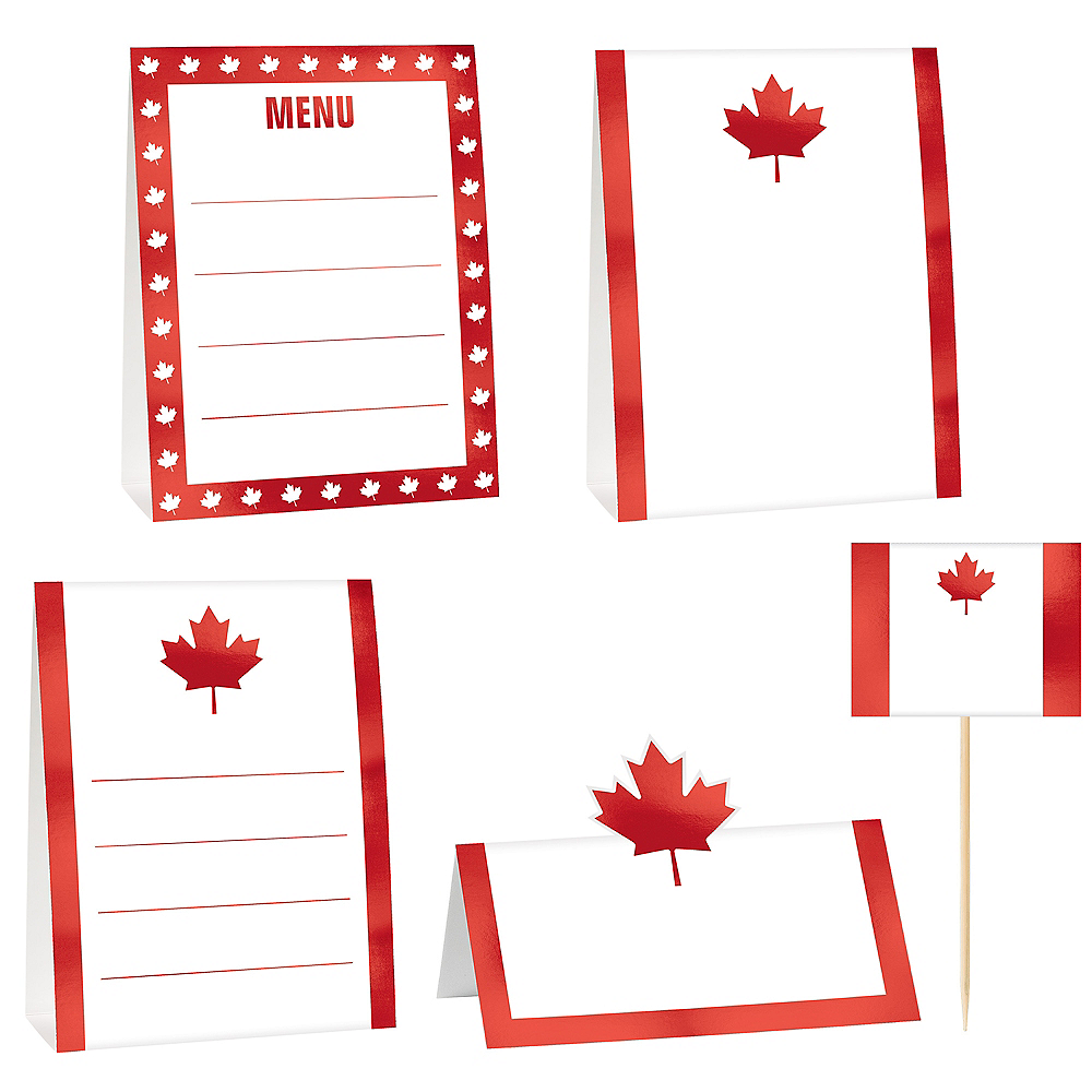 Canada Buffet Decorating Kit 12pc Image #1