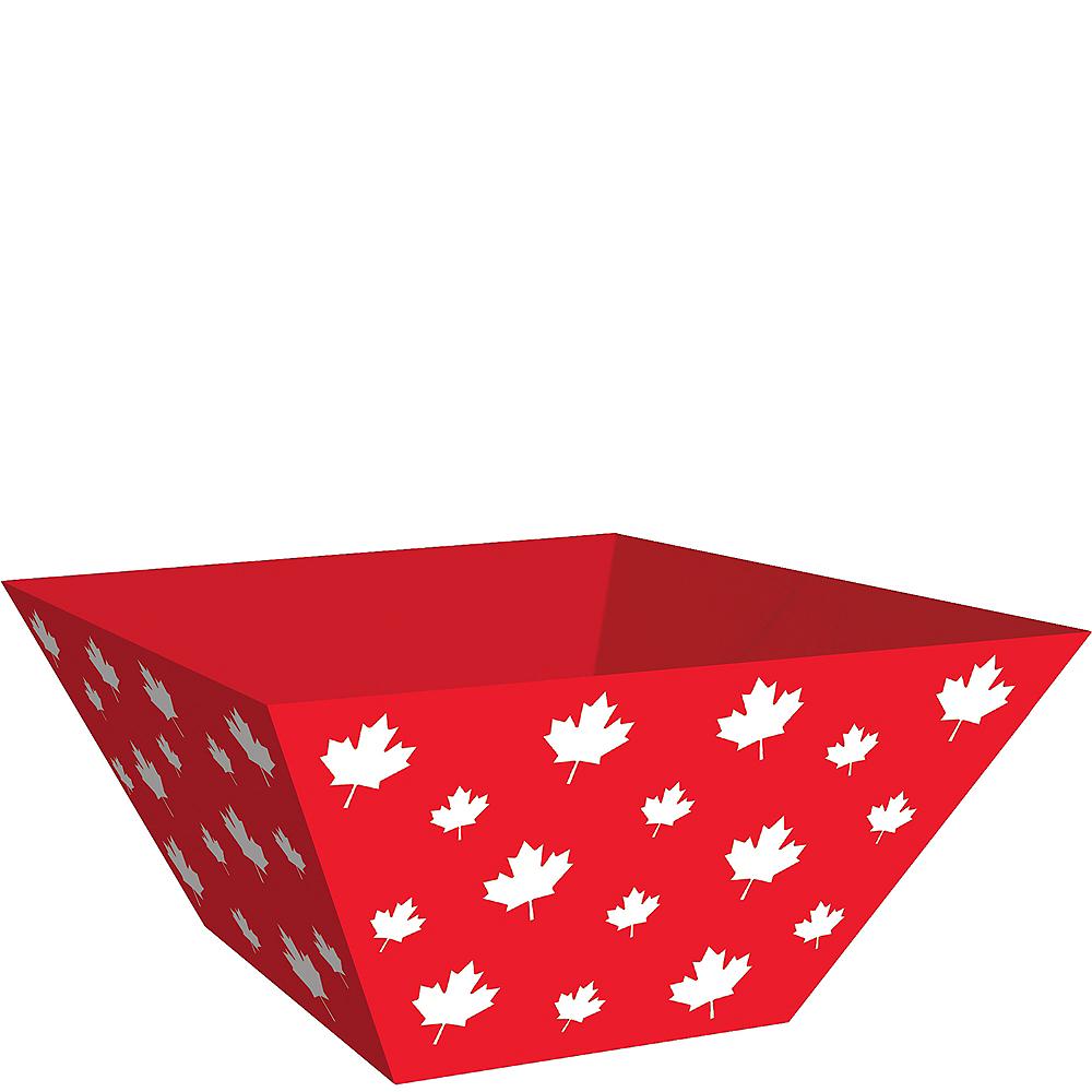 Canadian Maple Leaf Serving Bowls 3ct Image #1