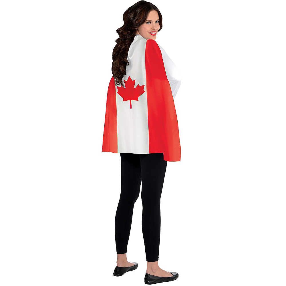 Canadian Flag Cape Image #1