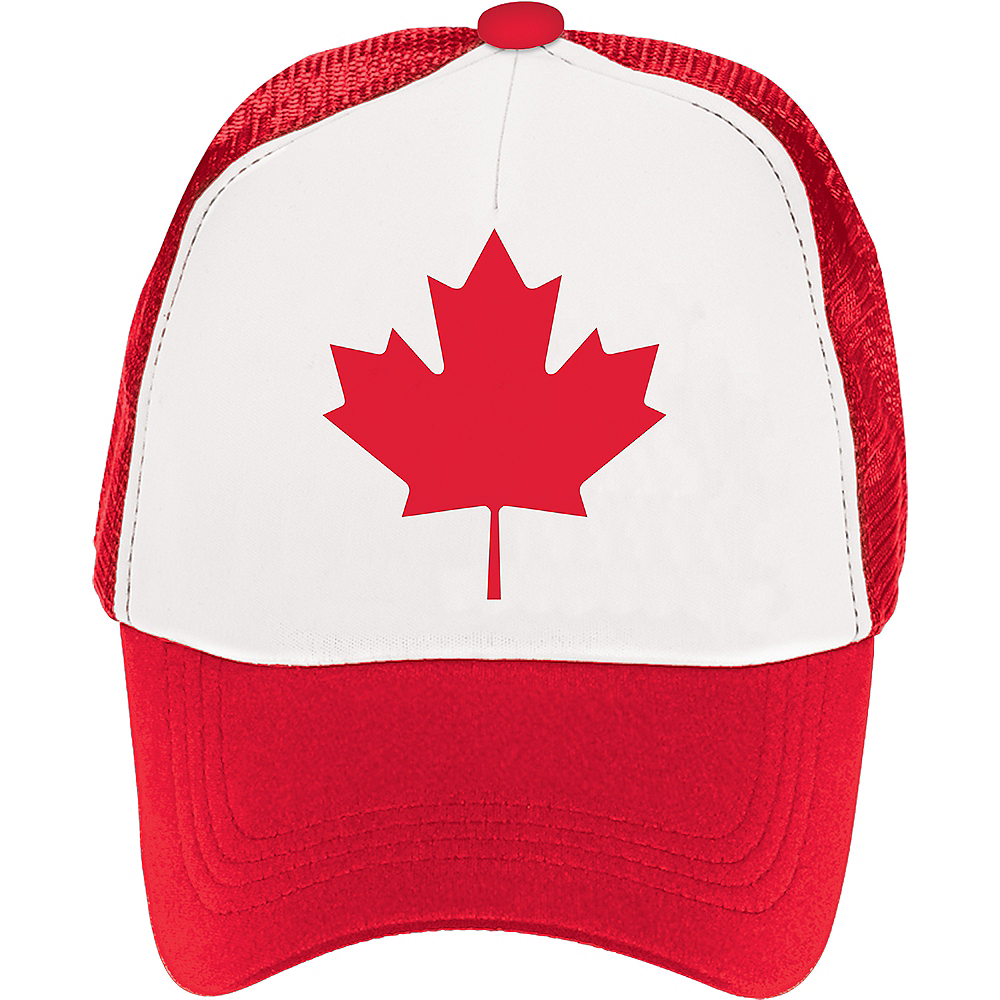 Canadian Maple Leaf Baseball Hat Image #1