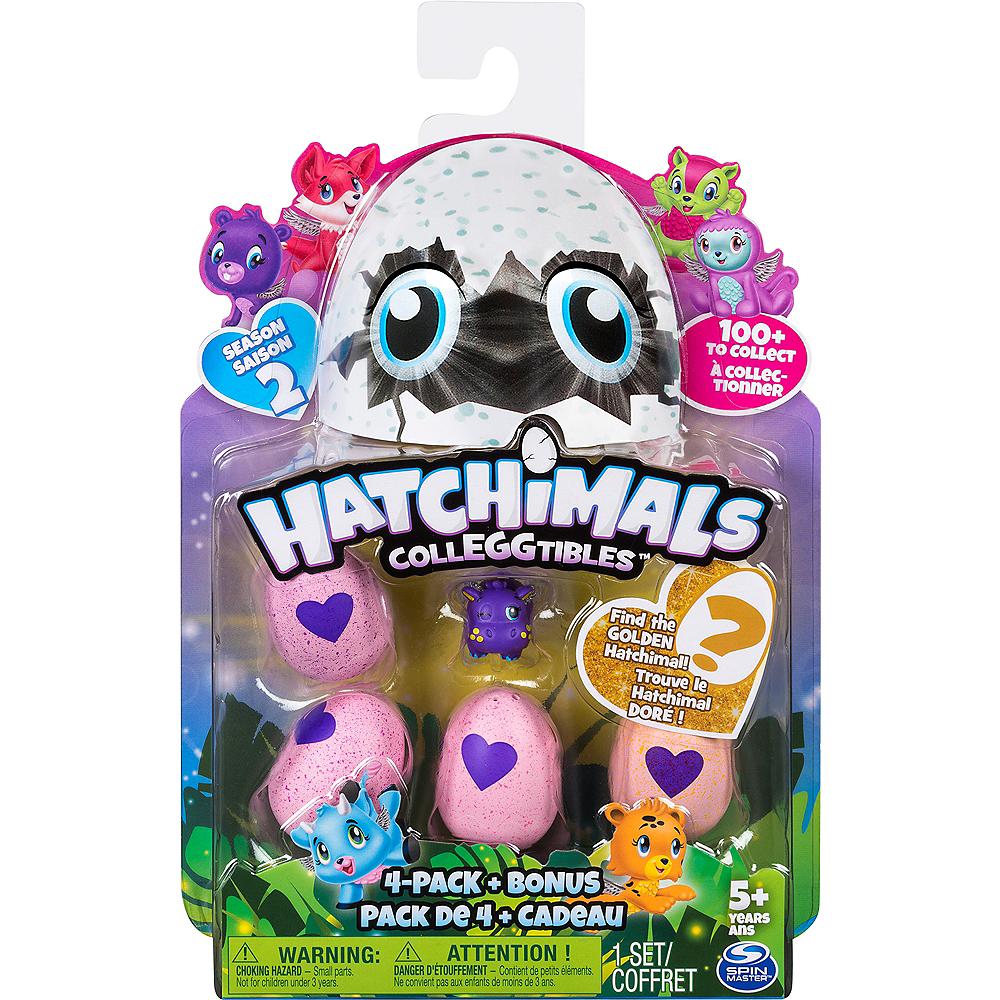 Hatchimals CollEGGtibles Season 2 4-Pack with Bonus Image #1