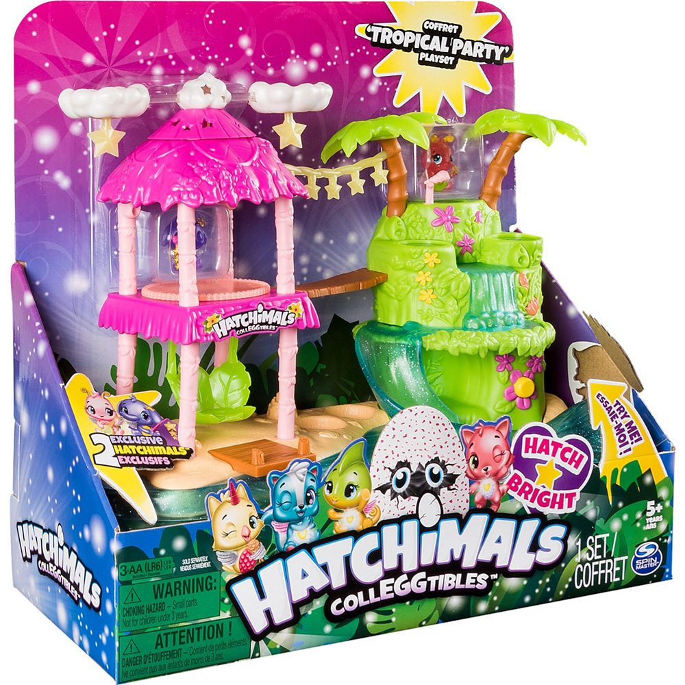 Hatchimals CollEGGtibles Tropical Party Playset 5pc Image #1