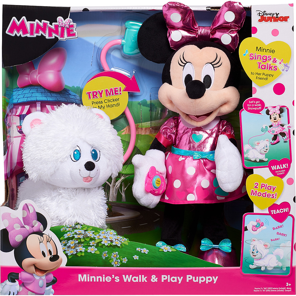Minnie Walk and Play Puppy Image #1