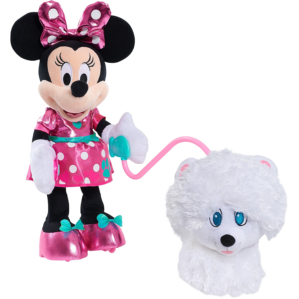 Minnie Walk and Play Puppy Image #2
